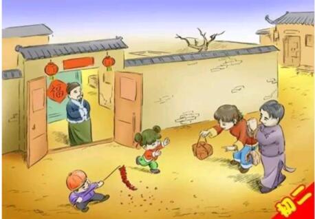 中国有些地方女儿是初二回 娘家