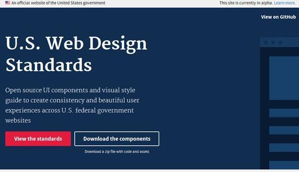 美国政府推出官方网站建设标准