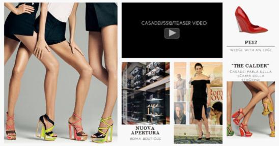 流行服饰网站规划。图片13