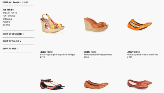 流行服饰网站规划。图片16