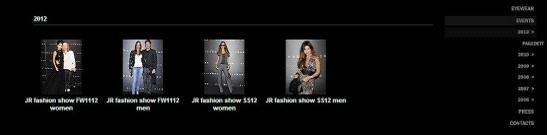 流行服饰网站规划。图片18